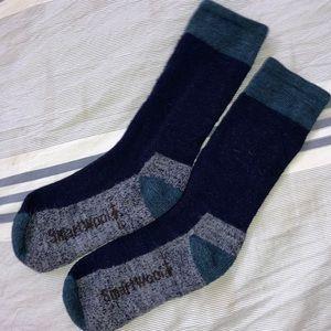 SmartWool Woman's Merino Wool Crew Socks 6-10 GUC